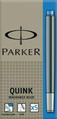 Blauwe Parker S0116240 inktpatronen - Penvulling - Blauw