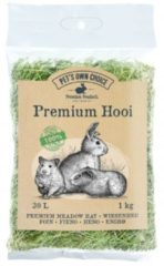 Pets own choice Pet's Own Choice Premium Hooi - Ruwvoer - 1 kg