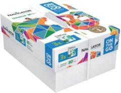 Kopieerpapier Navigator universal a4 80gr wit 500vel - actie!