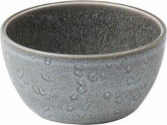 Bitz - Kom keramiek grijs / grijs - Diameter 10 cm - Hoogte 5 cm
