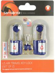 Accessories Reise-Sicherheit TSA-Vorhängeschloss 2er Set I 2,5 cm Samsonite indigo blue