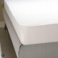 Homéé® pure'cotton Homéé - Hoeslaken Jersey Stretch 100% Katoen - 190/200x200/220 + 35cm - wit