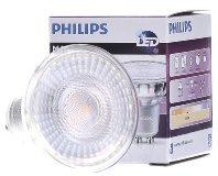 Afbeelding van Zilveren Philips LEDspot MV Value GU10 3.7W 927 60D (MASTER)   Beste Kleurweergave - Zeer Warm Wit - Dimbaar - Vervangt 35W