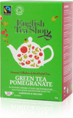 English Tea Shop Groene Thee Granaatappel Biologisch 20st