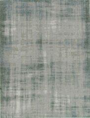 Blauwe Vloerkleed Brinker Carpets Grunge Aqua - maat 170 x 230 cm