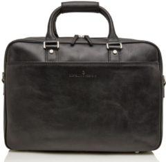 Castelijn & Beerens Castelijn en Beerens Verona Laptop Bag 15.6 Inch Crossbodytassen Zwart