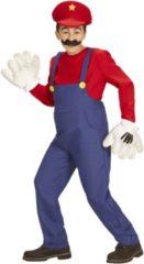 Mario & Luigi™ Klassieke rode loodgieter outfit voor kinderen - Verkleedkleding