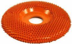Oranje Saburrtooth Saburr Power carving wheel 100 mm, flat, extra coarse