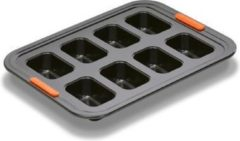 Zwarte LE CREUSET - Patiliss - Bakvorm voor 8 cakejes
