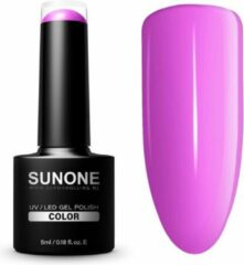 SUNONE UV/LED Hybrid Gel Paarse Nagellak 5ml. - F03 Flora