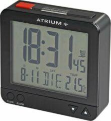 ATRIUM wekker Radiogestuurd Digitaal Zwart - A740-7