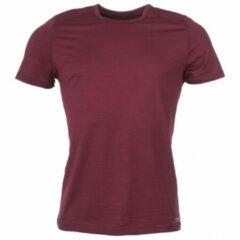 Engel Sports - Shirt Kurzarm - Merino-ondergoed maat M, rood/purper