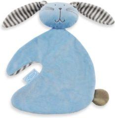 Babydingetjes Knuffeldoekje Konijn knuf blauw - Funnies