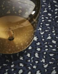 ESSENZA Bory Vloerkleed Blauw - 120x180 cm