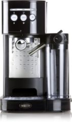Boretti B400 Espressomachine Zwart voor espresso, cappucino en latte