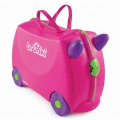 Trunki Ride-On Trixie Kinderkoffer - 46 cm - Lila