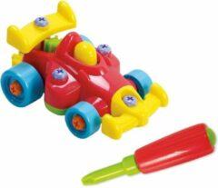 Playgo Constructieset - Raceauto