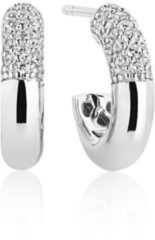 Zilveren SIF JAKOBS JEWELLERY CANNARA PICCOLO EARRINGS SJ-E2998-CZ
