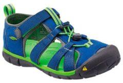 Blauwe Keen outdoor sandalen Seacamp II kids