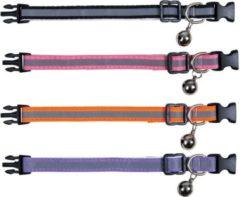 Trixie Kittenhalsband - Kattenhalsband - 18 cm Multi-Color