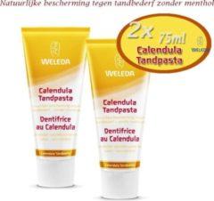 2X Weleda tandpasta Calendula - 75ml