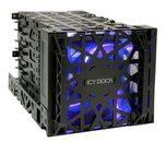 Icy Dock ICY Dock Black Vortex MB074SP-B - Gehäuse für Speicherlaufwerke - 3.5'' (8.9 cm) MB074SP-B