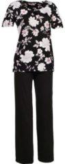 ESPRIT Schlafanzug Single-Jersey Esprit schwarz