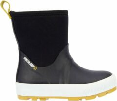 Winter-grip Snowboots Jr - Neo Welly - Zwart/Mosterd - 30