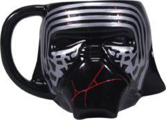 Grijze Half Moon Bay Star Wars: The Rise of Skywalker - Kylo Ren Shaped Mug