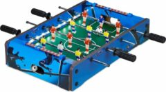 Relaxdays mini voetbaltafel led - tafelvoetbal - tafelmodel - tafelvoetbalspel