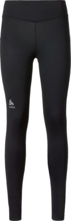 Afbeelding van Odlo Bl Bottom Long Sliq Dames Sportlegging - Zwart - Maat XL