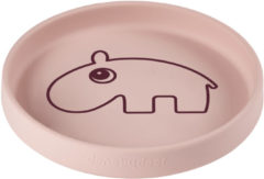 Done by Deer Baby Accessoires Silicone plate Ozzo Roze