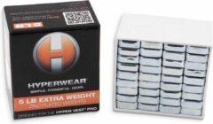 Zilveren Hyperwear Hyper Vest PRO & ELITE Booster Pack