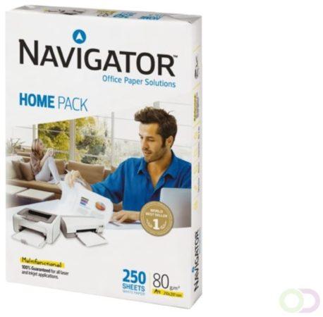 Afbeelding van Kopieerpapier Navigator Homepack A4 80gr wit 250vel