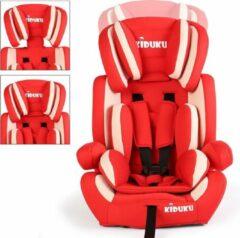 Merkloos / Sans marque Sens Design Autostoeltje - Kinderstoel - Rood/Wit