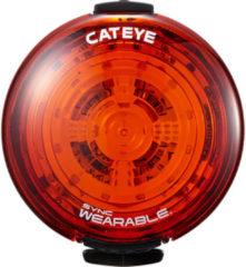 Zwarte Cateye Sync Wearable 35/40 Lm Wearable Light - Achterlichten
