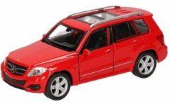 Speelgoed rode Mercedes-Benz GLK auto 12 cm - modelauto / auto schaalmodel