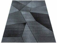 Antraciet-grijze Ayyildiz Beta Vloerkleed Grijs Laagpolig - 80x150 CM