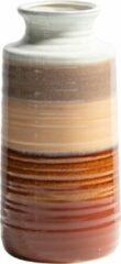 BePureHome Decennia Vaas - Ceramic - Chestnut - Set van 2