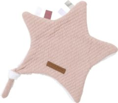 Roze Little Dutch Knuffeldoek ster - pure pink