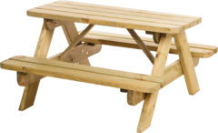 Hillhout Junior picknicktafel Bjorn bladmaat 90 x 38,5 cm