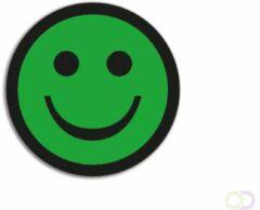 SMIT VISUAL Magnetische Smiley's Basic Groen (5 stuks)
