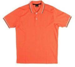 Oranje Polo Shirt Korte Mouw Key Up 2Q70G 0001