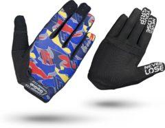 Blauwe GripGrab Rebel handschoenen (lange vingers) - Handschoenen met lange vingers