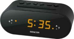 Sencor SRC 1100 Wekker radio Zwart