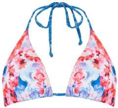 Animal Peachia Triangle Bikini Top