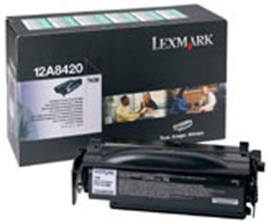 Afbeelding van Zwarte Lexmark T430 6K retourprogramma printcartridge