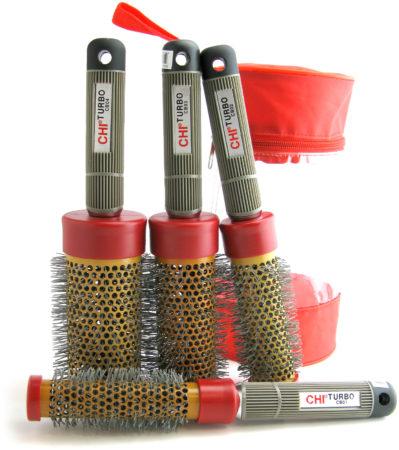 Afbeelding van Rode CHI - Keramische Borstels Inclusief Tas - Voordeelset