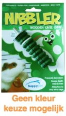 Happy Pet Knaag Kauwhout Nibbler S - Speelgoed - 8 cm Fruitsmaak