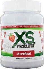 Xs Natural Aardbei eiwitten - 600 gram